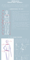 Female Body Tutorial by bertalina