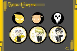 Keychains - Soul Eater by ome-okane