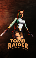 Tomb Raider I - Unofficial Poster by FearEffectInferno