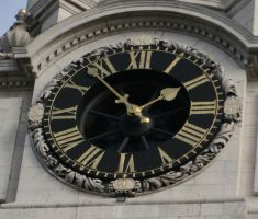 Stock Clock 1 by Sheiabah-Stock