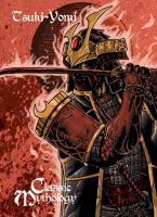 Tsuki-Yomi Base Card Art - Nestor Celario Jr by Pernastudios