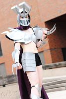 T.M.N.T.: Fem. Shredder #1 (Shelle-Chii) by AilesNoir