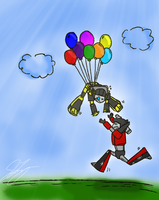 Fun with Balloons by Armadria by TaintedTamer