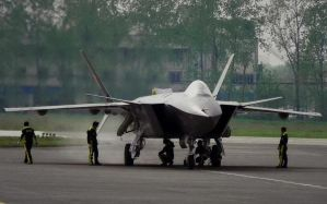 J-20,Chinese Stealth Fighter by Quatrefoil24