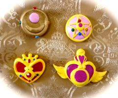 Sailormoon Magnets by HeyLookASign