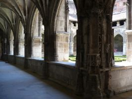 Cloister by Cat-in-the-Stock