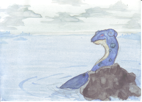 Postcard 5 - Lapras by Ammoth