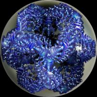 abstract blue ball by Andrea1981G