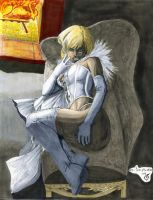 Copic Colors No9 - Emma Frost by ChrisShields