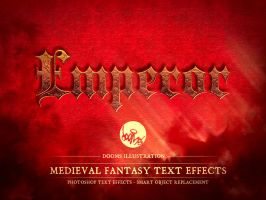 Medieval Fantasy Epic TEXT LOGO Effect by Doomsillustration