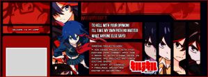Ryuko Matoi - Kill la Kill [Custom TLC] by HarmoniaFreak