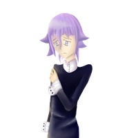 Another Crona Drawing :D by FrostBitten-Winter