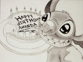 Best Birthday Wishes From Stitch by DannyNicholas