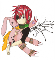 :Little:Lavi:N:Pink:Bunneh: by KaiSuki