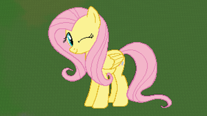 MC Fluttershy by xPesifeindx