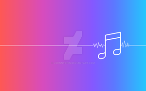 Aple Music Wallpaper by JohnnyChin