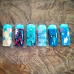 Dmmd nails by LunaSane45