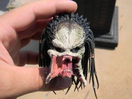 hot toys wolf predator resculpt from zombie labs by mikemzombielabs