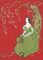 Binding: The Red Fairy Book by Himmapaan