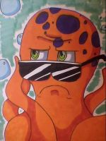 Hipster Octopus by Fuso-starstar888