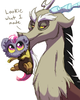 Proud Papa by Lopoddity