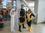 Storm, Colossus, and Shadowcat by AJTalon