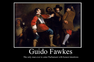 Guy Fawkes motivator by Party9999999