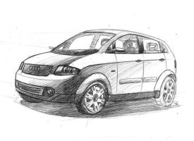 Audi a2 by MartinEDesign