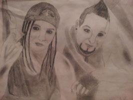 Vaas and Angel by hellsocold
