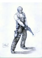 RE4: Leon S. Kennedy by werder