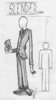 Slender - Man by Ronarion