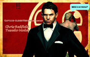 Chris Redfield Tuxedo Model by Captain-AlbertWesker