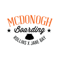 McDonogh Boarding Tee - Front by dylorrdesign