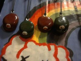Mario Hat charms by Malice-Ghoststar