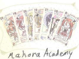 Botched Pactio Cards of Negima by Hara-Takumi