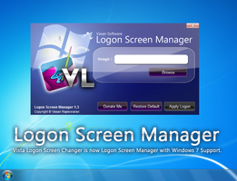 Logon Screen Manager by VasanRajeswaran