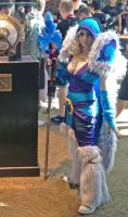 the real Crystal Maiden from DotA2 by SPPlushies