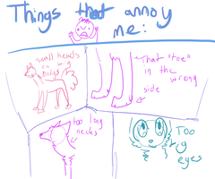 Things that annoy me when drawing dogs by Unikonkukka