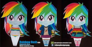 Rainbow Dash Equestria Girls by ELJOEYDESIGNS