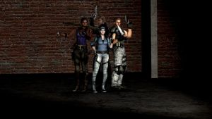 Resident evil 5 Characters by GiannisXD55