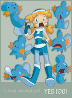 Mudkip Mayhem by prismageek