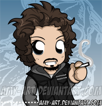 Tig - Sons of Anarchy by amy-art