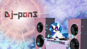 Vinyl Scratch by Apodes