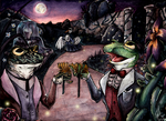 Come Frogs, Come Beetles by abstractmouse