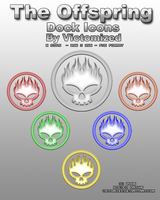The Offspring Dock Icons by Victomized