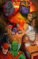 JLA and the Avengers by SinfiniD