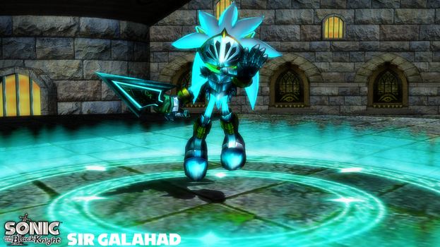 (MMD Model) Sir Galahad (Silver) Download by SAB64