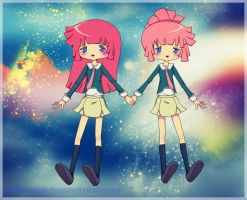 star driver twins by cotton-candy-dreamer