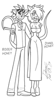 Sweet as Honey by Blu3Danny