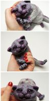 Boo the Ghoul Kitten FOR SALE by Sovriin